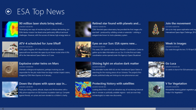 ESA News and Images