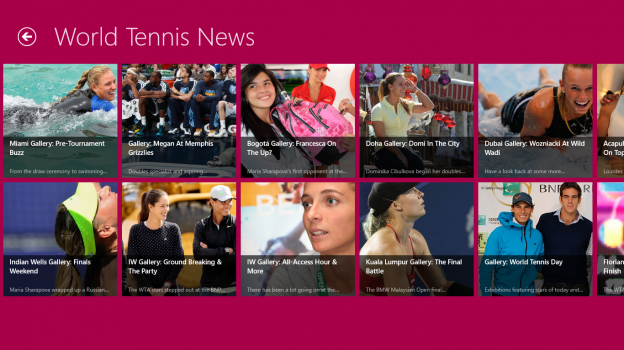 World Tennis News