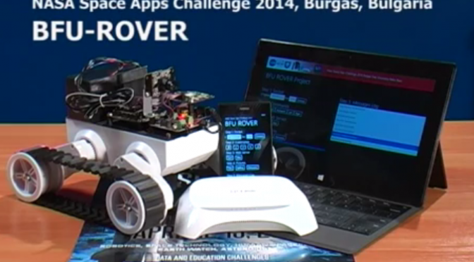 BFU-ROVER the NASA Space Apps Challenge 2014 Project Video
