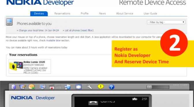 Remote Device Access @ Nokia Developer