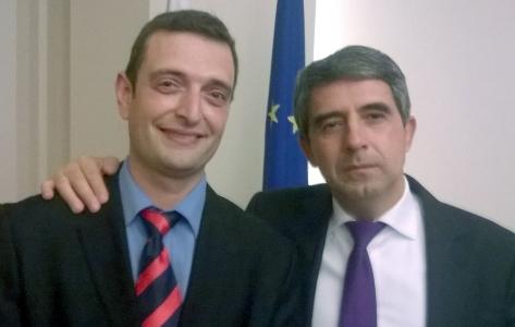 Димитър Минев и Росен Плевнелиев